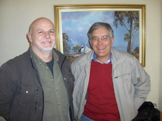 Dr. Opperman and Gerald (L to R) - Create FREE Website-Create and Publish a WordPress Website