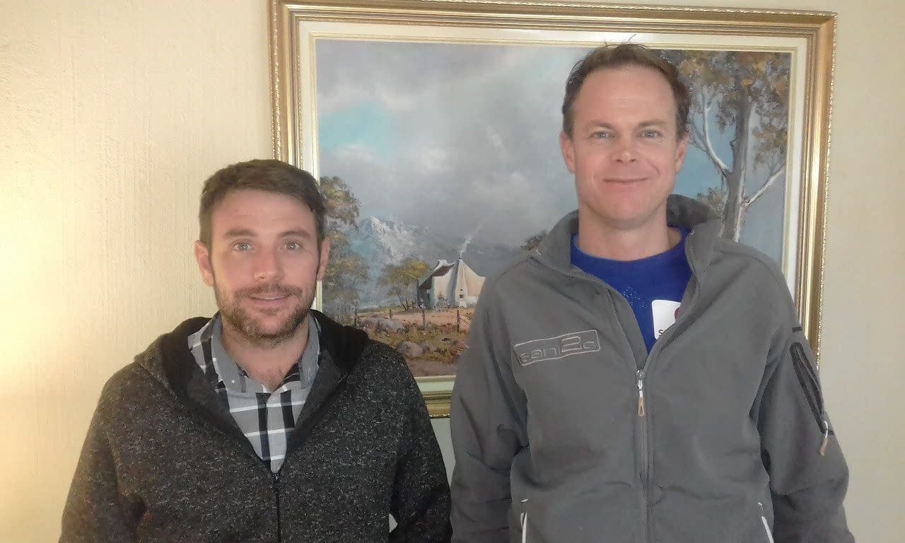 Muller de Wet and Marc Booysen (L to R) attended 'Search Engine Optimization (SEO)' Training Course