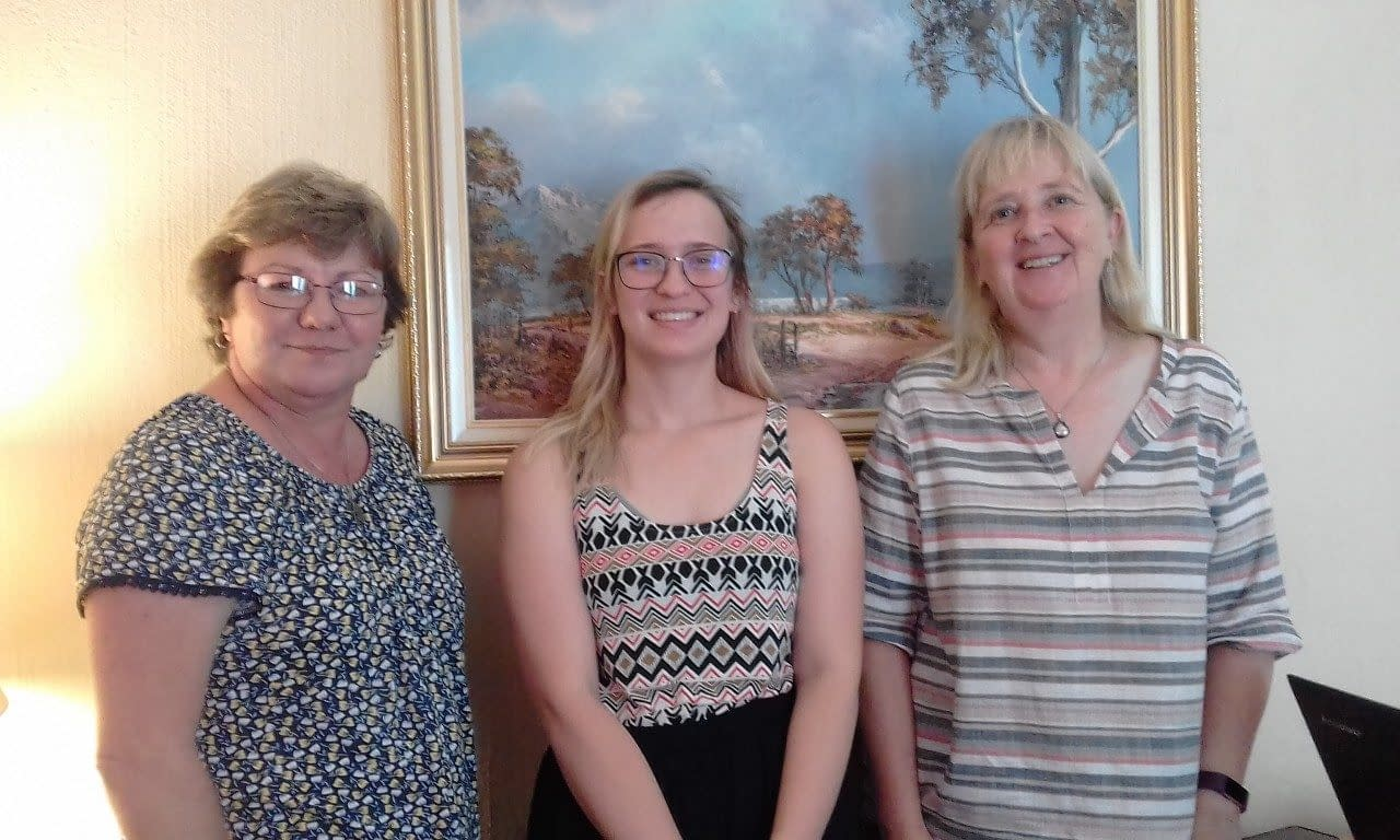 Maggie Tideswell, Lindsay Thomas and Nikki Milich (L to R) attended 'SEO - Search Engine Optimization'