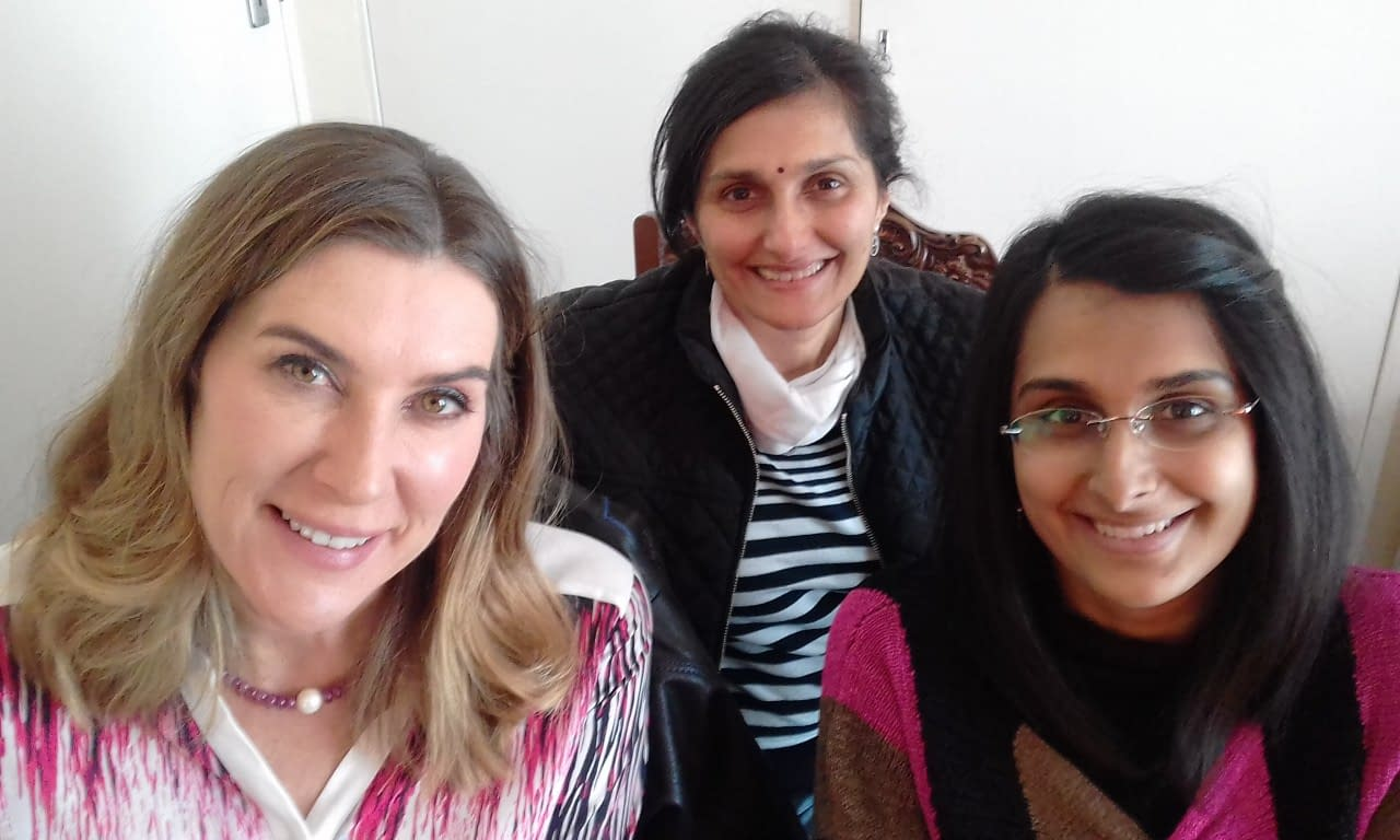 Jennifer Fieldgate, Kalpana Nagindas and Kaajal Nagindas attended 'Email Marketing with MailChimp'