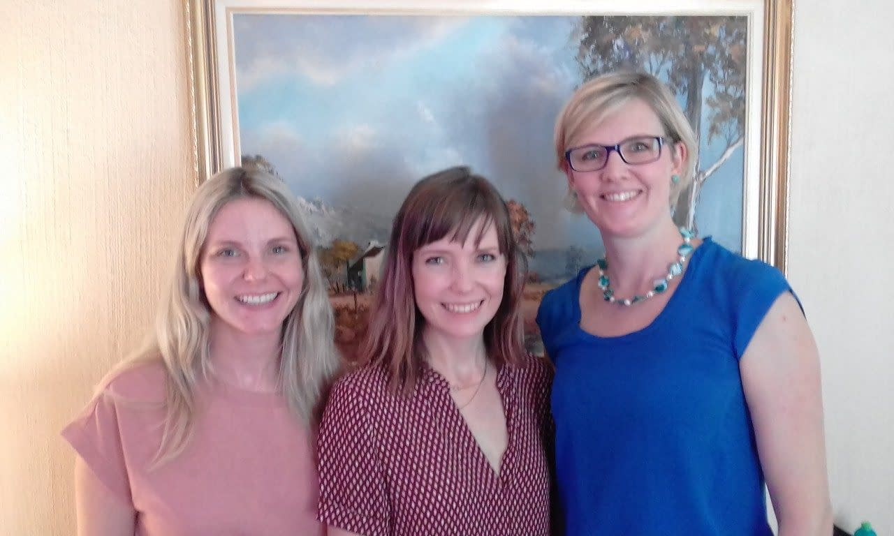 Louise Carmichael, Jules Belasyse-Smith and Jennifer Hooper attended 'Create and Publish a WordPress Website'