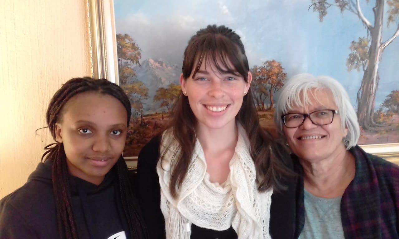Masibonge Noumba, Mathilda Oosthuizen and Marlene Oliver (L to R) attended Email Marketing