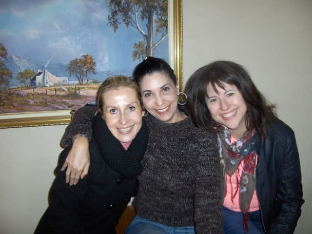 Cathy, Ilana and Lyra (L to R) - Create FREE Website-Create and Publish a WordPress Website