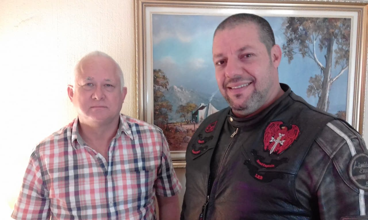 Stuart McDonald and Denzyl Khourie (L to R) attended 'Google Ads'