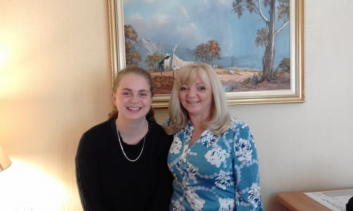 Jasmine Bradley and Sue Bradley (L to R) attended 'Email Marketing with MailChimp-Free, Professional Newsletters'