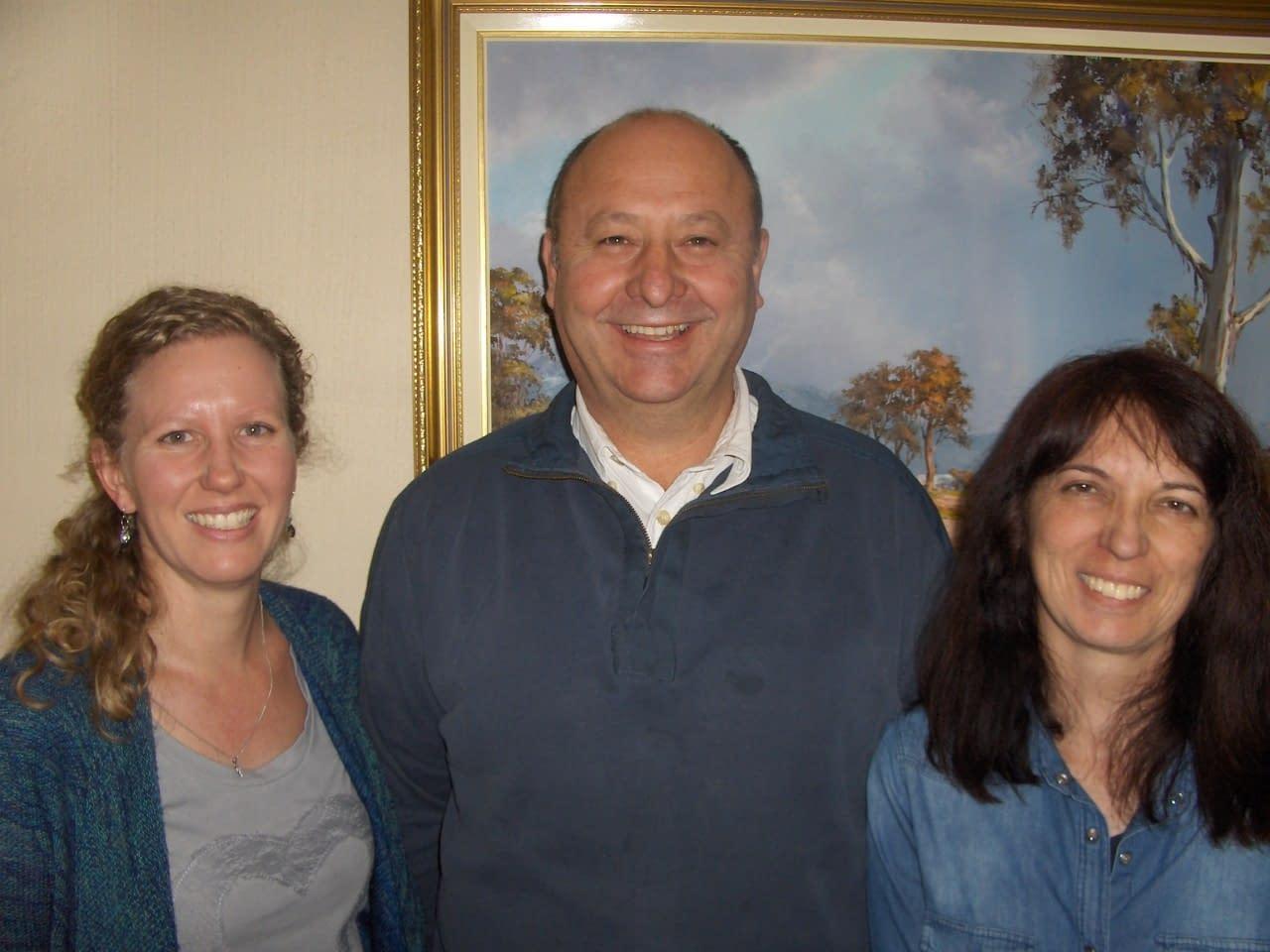 Jacqui, Conrad and Angela (L to R)-SEO Training Course – Search Engine Optimization