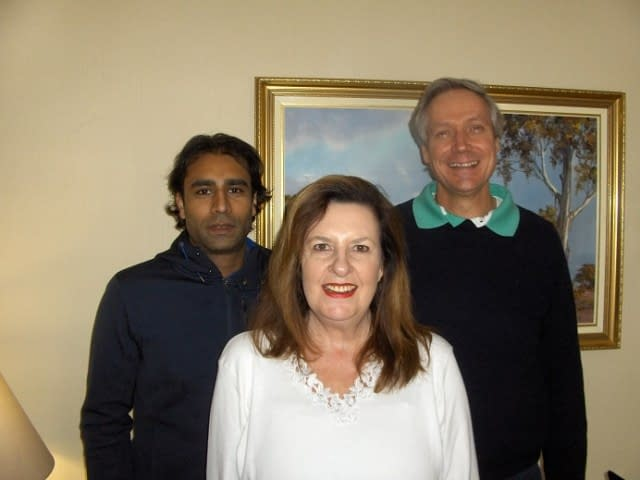 Niall, Engela and John-Peter (L to R): Create FREE Website