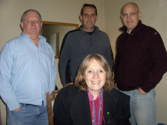 Seated: Vanessa. Standing L to R: Chris, Mike and Jaco. SEO Training Course-Search Engine Optimization.