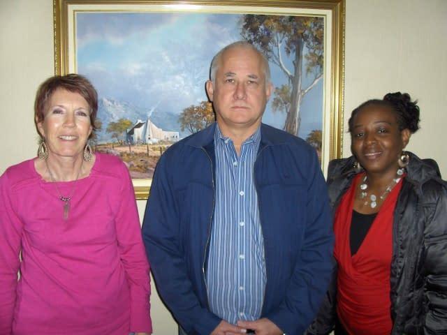Joy, Stuart and Mwangie (L to R) - SEO Training Course-Search Engine Optimization
