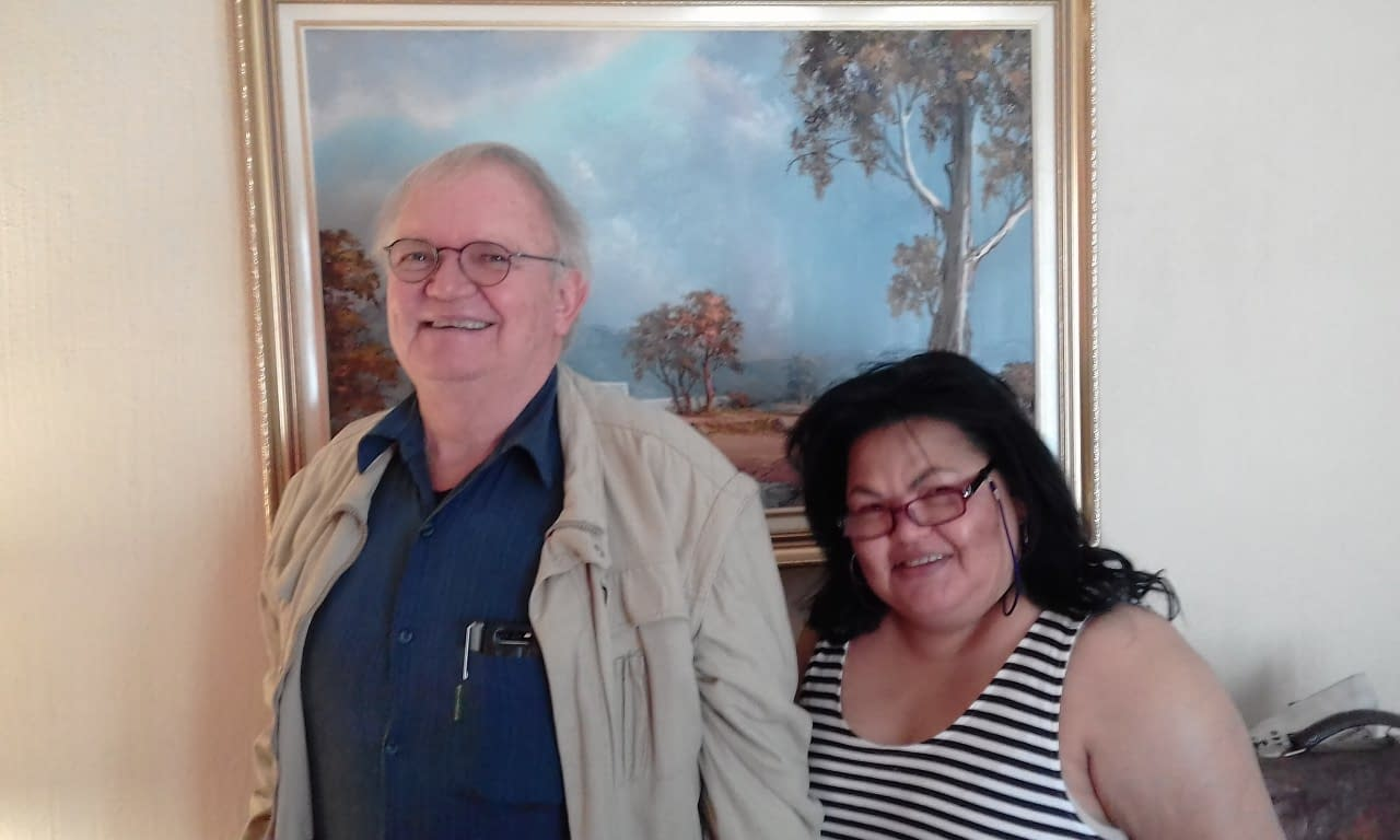 Dr. Johan Wentzel attended Private Training and Suleila Montgomery joined in