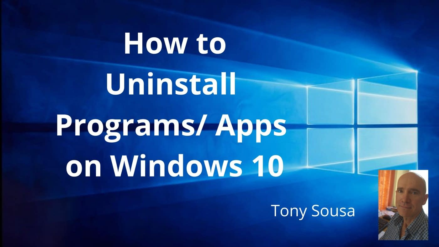 How to Uninstall Programs Apps on Windows 10