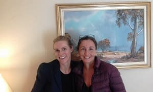 Fabienne Perreux and Laila Saada (L to R) attended 'Create Free Website'