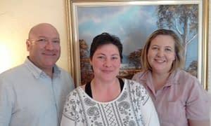Steven Bilger, Janine West-Evans and Penny Harris attended 'Create Free Website Part 2'