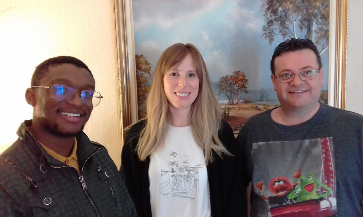 Xolani Mpanza, Nicole Middleton and Ross Howard attended 'Email Marketing with MailChimp-Free, Professional Newsletters'