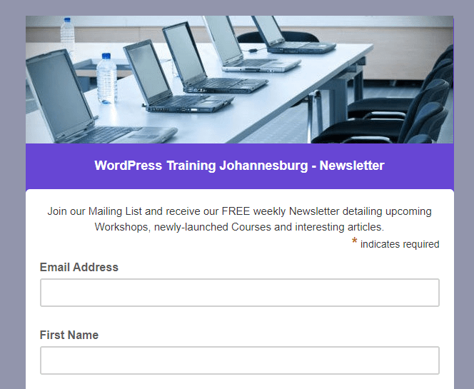How to Add a MailChimp Signup Form to a WordPress Website